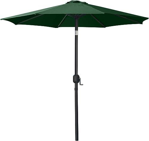 MASTERCANOPY Patio Umbrella Outdoor Fe-Al Market Table Umbrella