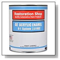 ELECTRIC BLUE METALLIC Acrylic Enamel Single Stage Car Auto Paint 1- Gallon Only - Restoration Shop