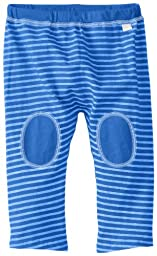 i play. Baby Organic Yoga Pants, Royal Blue Stripe, 18 Months