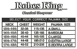 RK Classical Sleepwear Men\'s Broadcloth Woven Pajama Set, Size Large