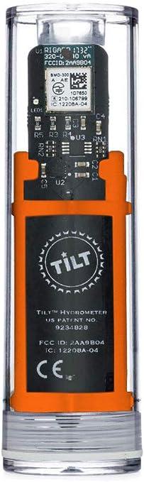 Tilt Digital - Hidrómetro y termómetro inalámbrico para smartphone o tablet, color naranja: Amazon.es: Hogar