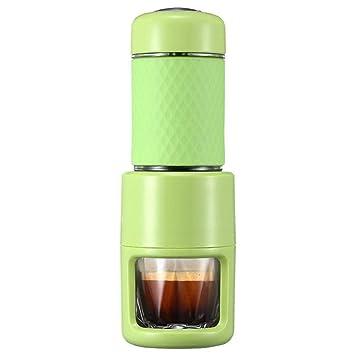 VATHJ Cafetera máquina de café portátil mini mano-prensa máquina de café espresso hogar: Amazon.es: Hogar