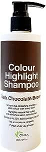 Cinta Color Shampoo Dark Chocolate Brown, 250 ml (packaging may vary)