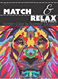 Match & Relax: Hidden Color by Number Escapes (Volume 1)