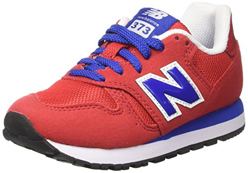 New red Rouge Kj373rdy Rosso Mixte Basses Balance Enfant Sneakers blu Z1UZwHOnqx