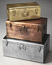 3-Pc Storage Trunk Set