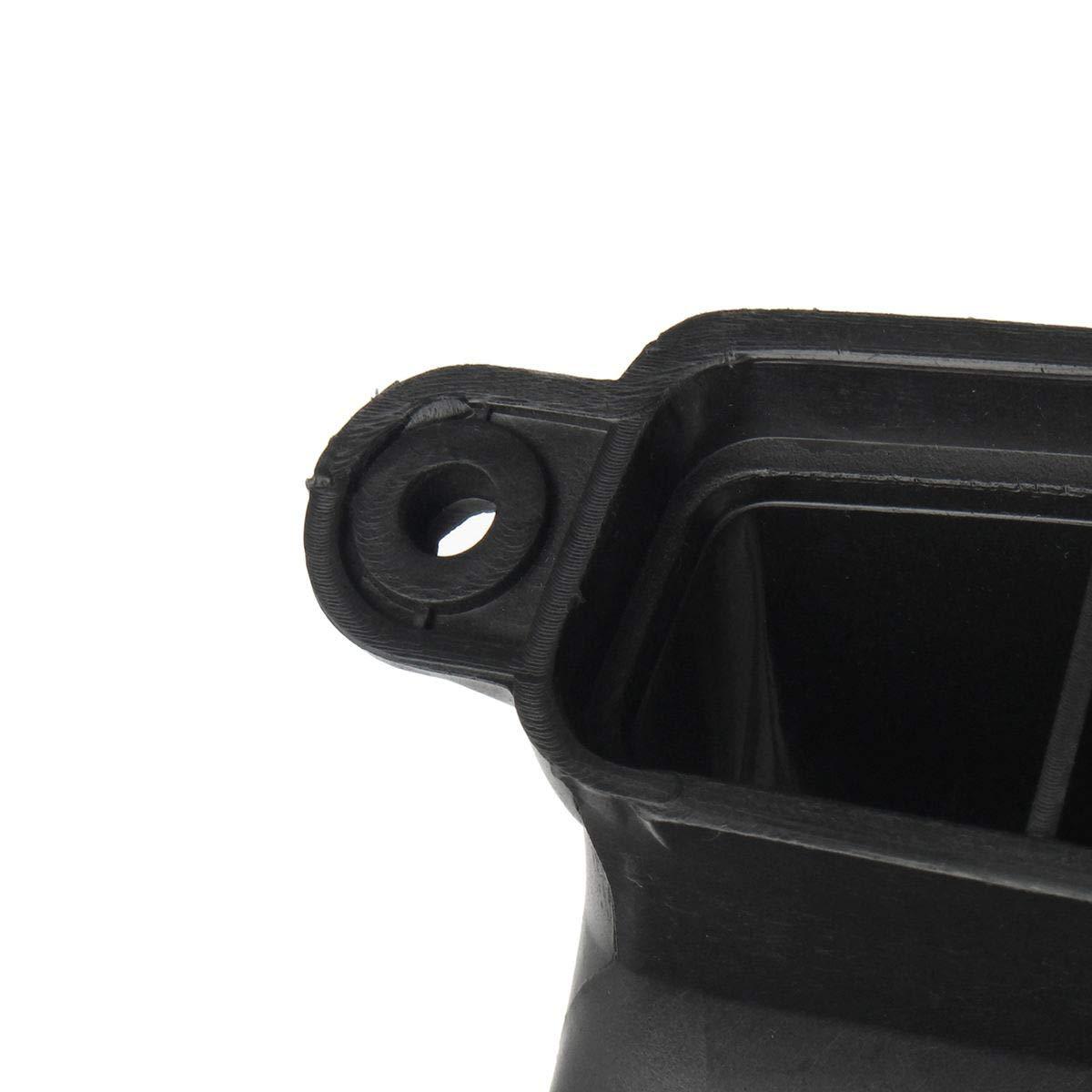 Semoic 1Pcs Nuevo Negro Conducto De Entrada De Aire para E84 X1 3.0 E90 E91 E92 328I Conducto De Admisi/ón del Coche De Aire Tubo De Admisi/ón De Aire 13717541738