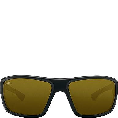 63555f6924f Hobie Eyewear Mojo Sunglasses (Satin Black Frame Sightmaster Polarized Pc  Lens)