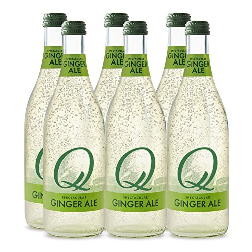 Q Mixers, Q Spectacular Ginger Ale, Premium Mixer, 500 ml Bottle (Case of 6)