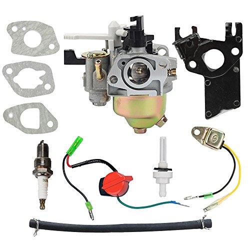 HIPA Carburetor + Tune Up Kit Spark Plug for Harbor Freight Predator 212cc 6.5HP OHV Horizontal Engine 69730 69727