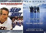 HOCKEY MOVIE NIGHT: Slap Shot & Mystery, Alaska 2 DVD Double Feature