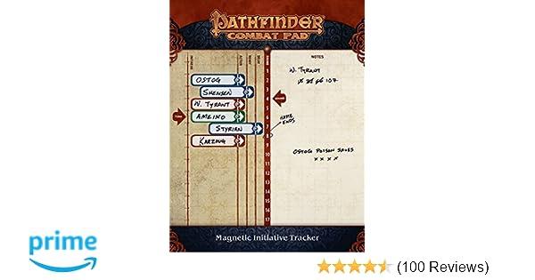 Pathfinder Combat Pad: Paizo Staff: 9781601255471: Amazon