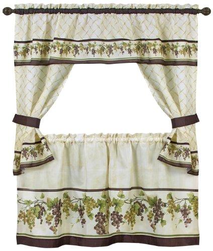 Achim Home Furnishings Tuscany Cottage Set, 24-Inch, Multi - Tuscany Home Furnishings