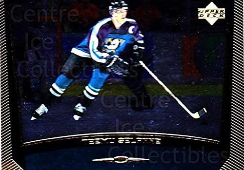 Teemu Selanne Hockey Card 1998-99 Upper Deck Gold Reserve 34 Teemu Selanne CI