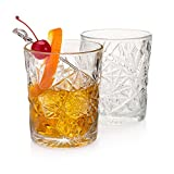 "The""Tuxedo Park"" Old Fashioned Whiskey Glass (Men's Bar Set of 2)"