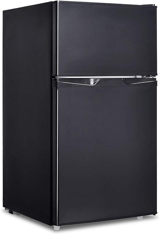 Goplus Frigorífico para congelador 95 litros, Color Negro: Amazon ...