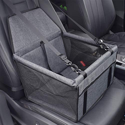 QKEMM Hundebox Transportbox Hundekäfig Auto-Hängetasche Bequemes Sitz-Rückenkissen mit Verschiedenen Größen und Farben