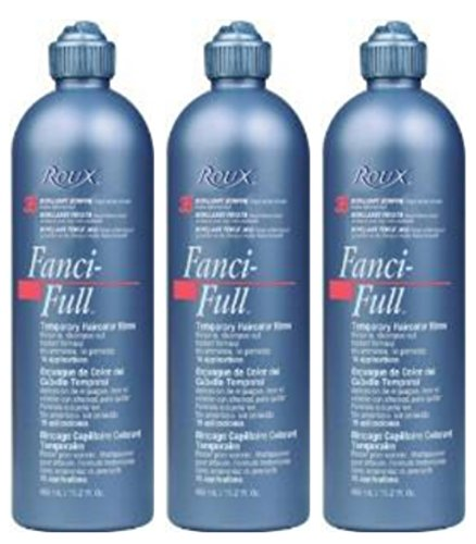 Lot of 3 Roux Fanci-Full #32 Lucky Copper Temporary Hair Color Rinse (3 On Roux)