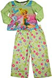 Disney Fairies - Little Girls Long Sleeve Tinkerbell Pajamas