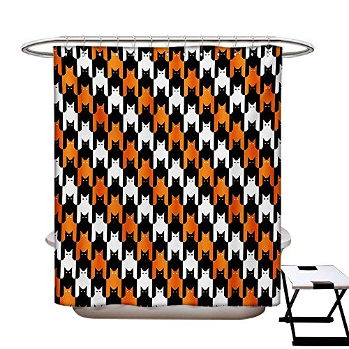 Halloween Shower Curtain Collection by Digital Style Catstooth