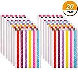 2040 Pieces Photo Corners Self Adhesive for Scrapbook Picture Album (Multicolored)