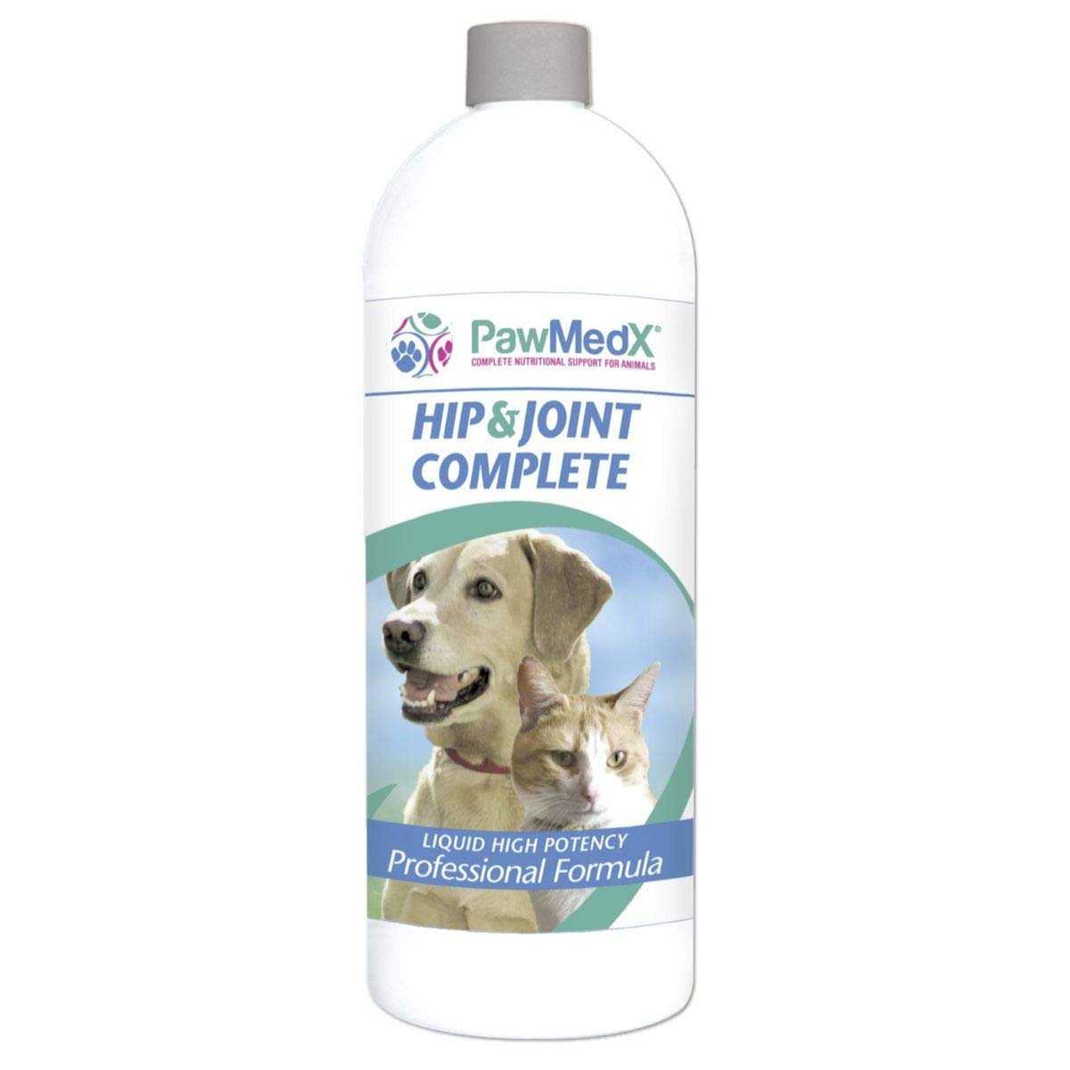 Liquid Glucosamine for Dogs | Glucosamine, Chondroitin, MSM, Collagen, L-Proline, VitC,Calcium, Boron, Grapeseed Extract. Extra Strength| Made in USA - 32oz - by Eniva Health