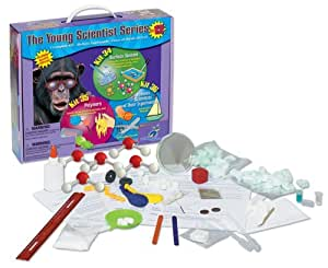Young Scientist Series - Set 12: Surface Tension (Kit 34) - Polymers (Kit 35) - Famous Scientists and Their Experiments (Kit 36)