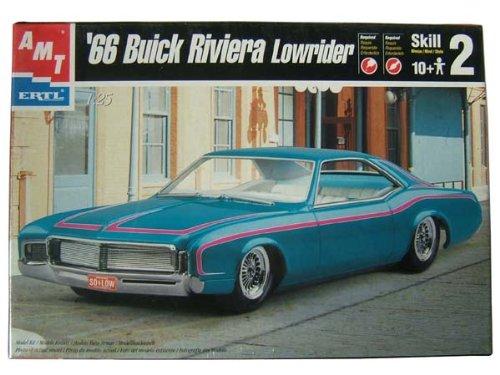 66 Buick Riviera Lowrider 1966 ビュイック リビエラ ローライダー AMT 30084 1:25スケール Chevrolet プラモデル [並行輸入品]