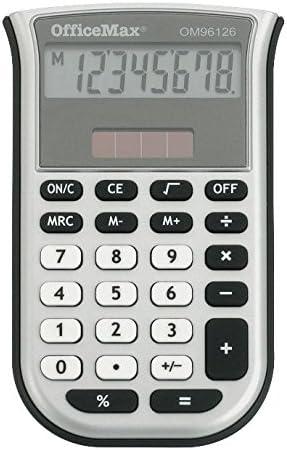 OfficeMax 8 Digit Mini Handheld Calculator