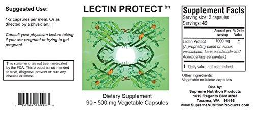 Supreme Nutrition Lectin Protect, 90 Lectin Blocker Caps