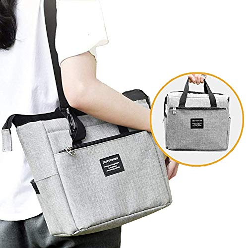 FHEAL Transformable Lunch Bag for Women, Insulated Warmer Lunch Box Tote Bag Special for Work Women