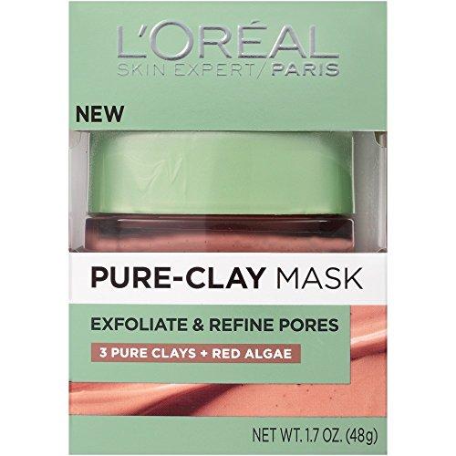 Price comparison product image L'Oréal Paris Pure Clay Mask Exfoliate And Refine Pores, 1.7 oz.