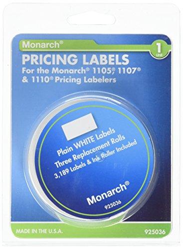 Avery–Etiquetas Monarch Model 1105/1110Etiquetadora (mnk925036)