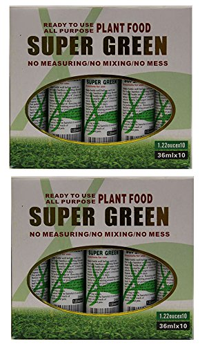 KL Design & Import - 20 Bottles of Super Green Green Lucky Bamboo Fertilizer Plant Food *NEW* by KL Design & Import