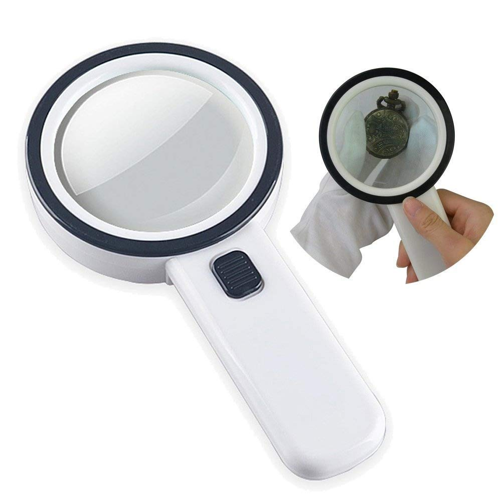 Amazon Com Kadaon Handheld 20x Magnifying Glass Lens