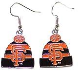 MLB San Francisco Giants Knit Hat Dangler Earrings