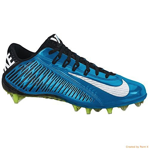 NIKE Mens Vapor Carbon Eilte 2014 TD Football Cleat (14 D(M) US, Royal Blue/Black)
