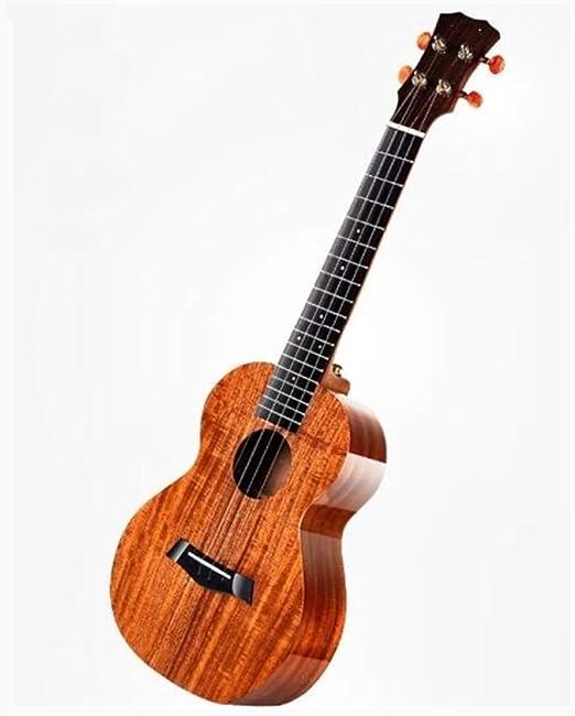 LOIKHGV Guitarras- Solid Koa Ukelele 23inch 26inch pequeño ...