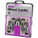 McGard 28320 Chrome/Black Bolt Style Radius Seat Lock Bolt Set
