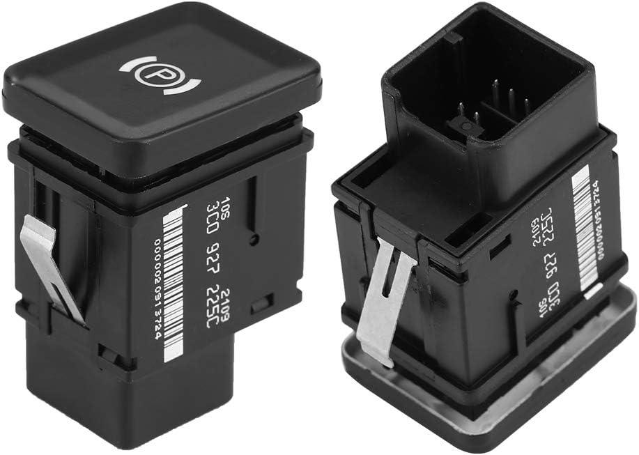 3C0927225C Interrupteur de Contact de Bouton de Frein de Voiture pour Passat B6 CC 3C Noir EBTOOLS Interrupteur de Stationnement /éLectronique de Voiture