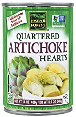 Vegan. Native Forest Artichoke Hearts are conscientiously grown and packed in Peru according to principals of fair trade and sustainable agriculture. Our mission is to offer you the most delicious and healthful natural artichoke hearts while ...
