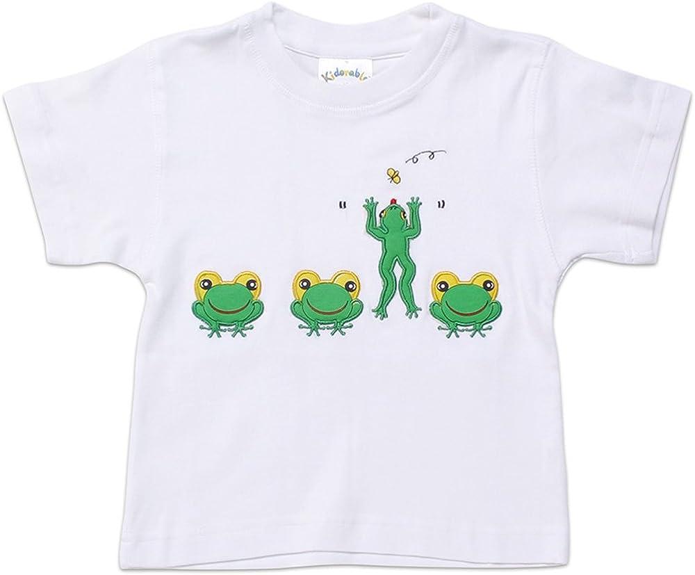 Kidorable Frog T Shirt, Green