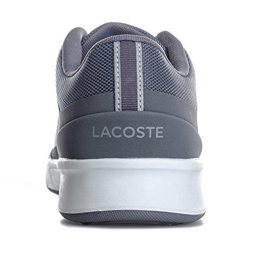 Lacoste Mens Explorateur Sport 117 Cam Trainers Dark Us11 Grey