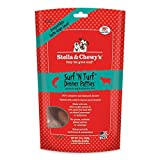 Stella & Chewy's Freeze Dried Surf & Turf (Beef and Salmon) Dinner for Dogs, …