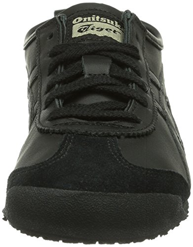 Asics Unisex Adults' Mexico 66 Low-Top Sneakers Black (Black/Black 9090) GSAB3