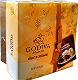 Godiva Belgian Chocolates Gift Box, Assorted, 27 Count