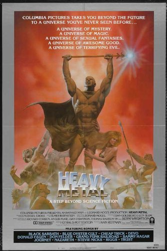 Heavy Metal POSTER Movie