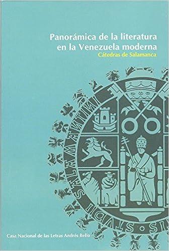 Amazon.com: Panorámica de la Literatura en la Venezuela ...