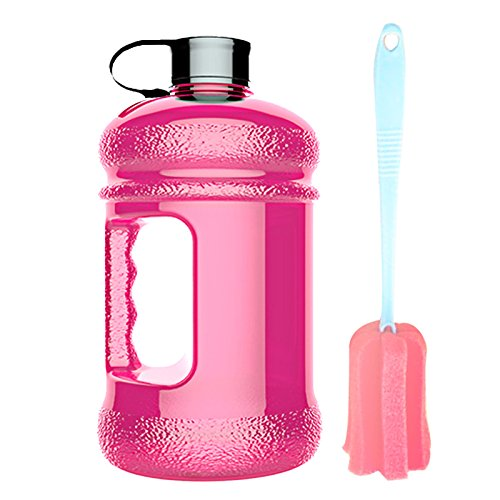 High-Capacity New Wave Jug Resin Sports Water Bottles(2.2 Liter)(pink)