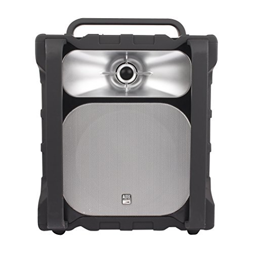 Altec Lansing Black Computer Speaker - Altec Lansing IMT804 Sonic Boom 2 Ultimate Waterproof Bluetooth Speaker (Black)
